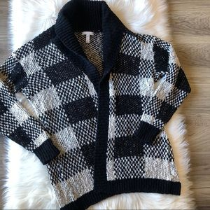 Leith Nordstrom Chunky Knit Open Cardigan Sweater